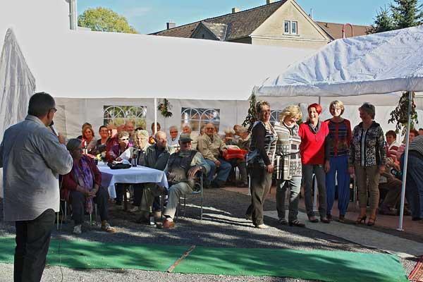 Lustige Modenschau 2012
