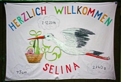 Herzlich willkommen, Selina