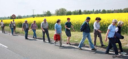 Frühjahrswanderung 2014 nach Klinga