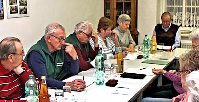 Jahreshauptversammlung beim Heimatverein Großsteinberg e.V.