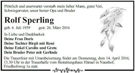anzeige-sperling